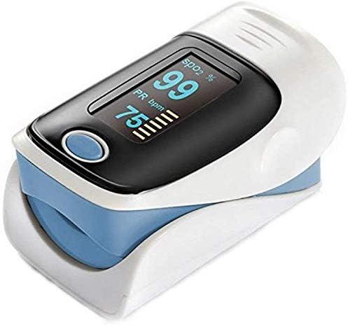 UISEBRT Pulsossimetro per la misurazione della saturazione di Ossigeno – per cardiofrequenzimetro SPO2 PR e Battito Cardiaco