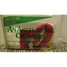 McDonalds - An American Tail Ornament - Fievel Stocking (1986)