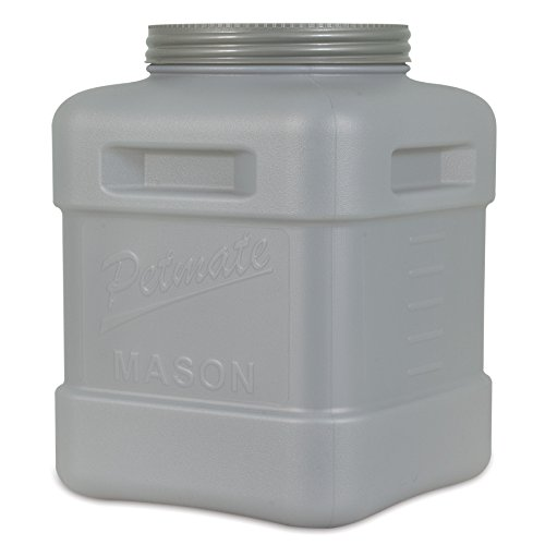 Petmate Mason Jar, Stores Food Up to 60-Pound
