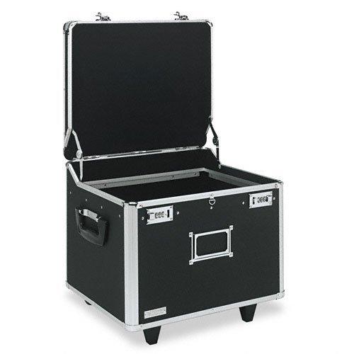 IdeaStream Vaultz : Vaultz Lock Mobile File Chest, Ltr/Lgl, Aluminum, 15-1/4 x 12-1/4 x 11-3/8, BLK -:- Sold as 2 Packs of - 1 - / - Total of 2 Each by IdeaStream Vaultz