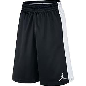 Air Jordan Highlight Basketball Men's Short Black/White 657722-010 (Size L)