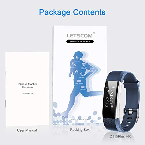 LETSCOM Fitness Tracker HR, Activity