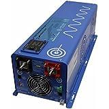 AIMS Power (PICOGLF60W24V240VS) 6000W 24V DC to 120/240V AC Pure Sine Inverter Charger