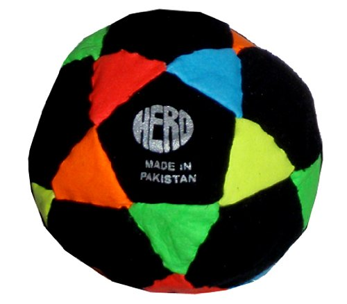 hero-black-neon-rainbow-32-panel-hacky-sack-footbag-comes-with-tips-game-instructions