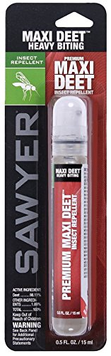 10 Hour Insect Repellent (Sawyer Travel-Size Maxi Deet Heavy Biting Insect & Bug 10 Hour Repellent Spray)