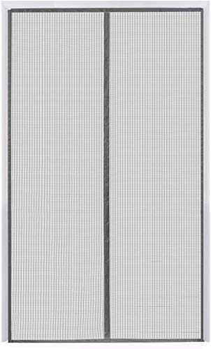 Magnetic Screen Door 38''x84'' Reinforced Fiberglass Mesh Curtain Patio Door Screen with Super Tight Self Closing Magnetic Seal, Full Frame Hook & Loop Fits Door Size up to 37''x84'' Max (38x84 Inch)