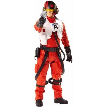 "Star Wars Episode VII 18"" Poe Dameron Figure, Age range: 3 years and up"