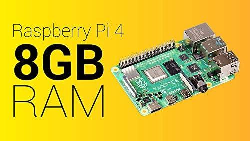 Raspberry Pi 4 Computer Modell B 8GB