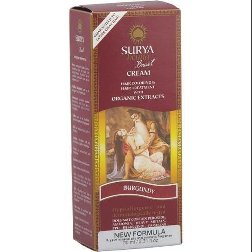 Surya Henna Burgundy Cream 2.31 Oz. 2 Pack