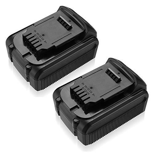 5600mAh for Dewalt 20v Battery Max Compatible With DCB204 DCB205 DCB203 XR 20 volt Lithium Ion Batteries (2-Pack)
