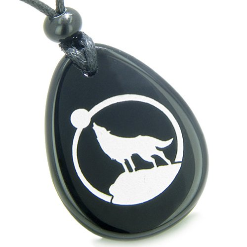 Courage Protection Howling Spiritual Necklace product image