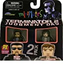 Minimates: Terminator 2 Judgment Day Series 1  Biker T-800 & Kyle Reese Action Figure 2-Pack