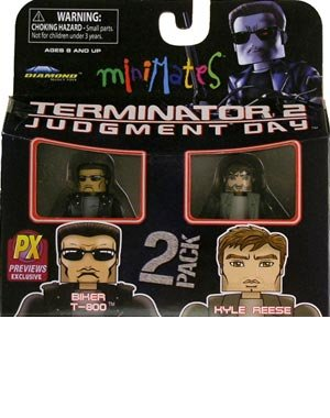 Minimates: Terminator 2 Judgment Day Series 1 > Biker T-800 & Kyle Reese Action Figure 2-Pack