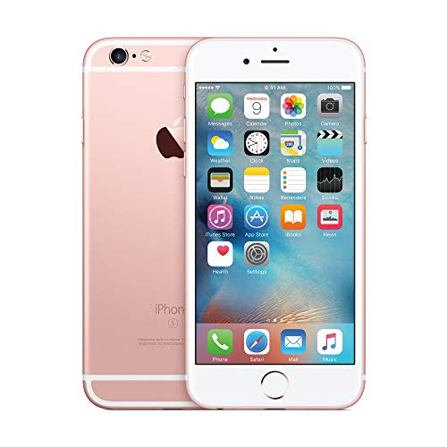 Apple iPhone 6S, 128GB, Rose Gold - Fully Unlocked (Renewed) (Verizon Iphone 5c)