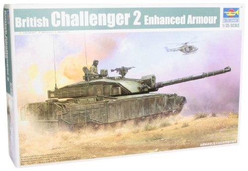 British Main Battle Tank (Trumpeter 1/35 British Challenger II Main Battle Tank with Heat Guards)