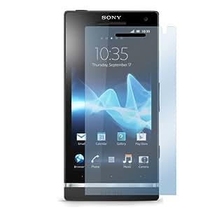 deinPhone Sony Xperia P LT22i 5x Folie Displayschutz MATT anti huella digital