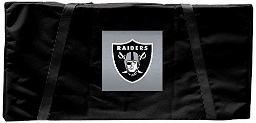 Oakland Raiders NFL Regulation Cornhole Carrying Case