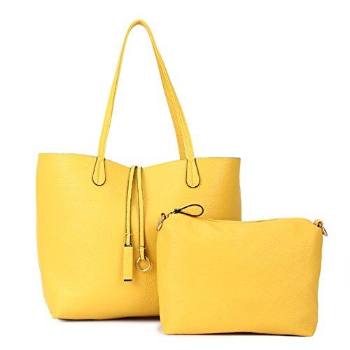 JHB700188C6 PU Leather European And American Style Women's Handbag,Dumplings Type Picture ()