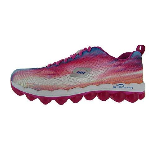 Skechers Sport Women's Skech Air - Dreamy Day Fashion Sneaker,Hot Pink,5.5 M