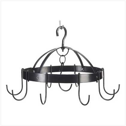 Mini Round Pot Hanger - Smart Living Company Mini Round Pot Hanger, Black