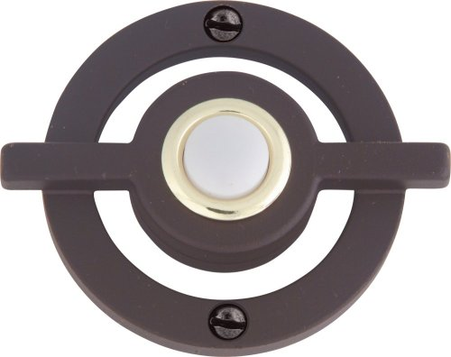Atlas Homewares DB643-O 2.5-Inch Avalon Door Bell, Aged (Avalon Door Knob)