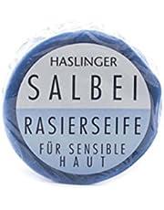 HASLINGER Salbei scheerzeep, 60 g
