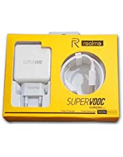 Realme USB To Type C Vooc Charger- 30W (White)