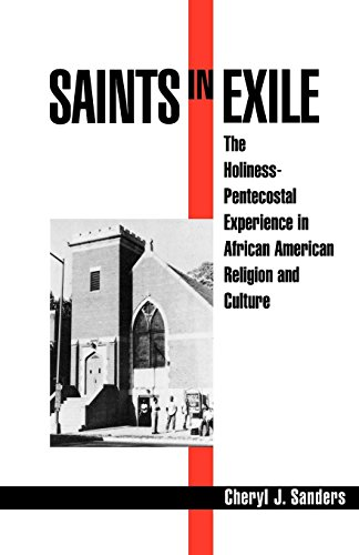 Cover of Saints in Exile: The Holiness-Pentecostal Experience in African American Religion and Culture (Religion in America)