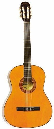 Lauren LA100C 39-Inch Full-Size Nylon String Classical Acoustic Guitar - Natural