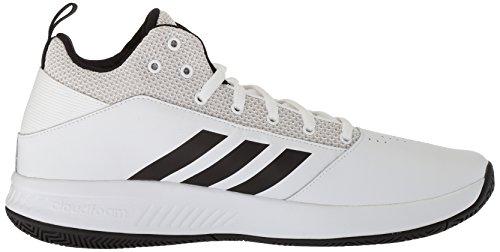 Adidas Mannen Cf Ilation 2,0 Wit / Kern Zwart / Grijs Één