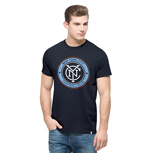 MLS New York City FC Men's All Pro Flanker Tee, X-Large, Fall Navy