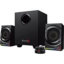 Creative Labs Speakers 51MF0470AA001 MF0470 Sound BlasterX Kratos S5 2.1 Speaker Black Retail