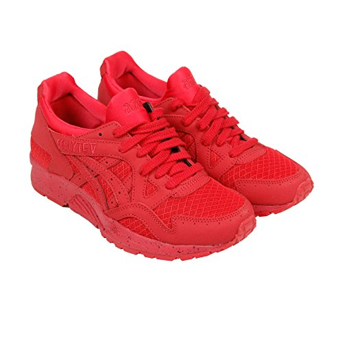 ASICS Men's Gel-Lyte V Fashion Sneaker, Red/Red, 11.5 M US