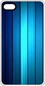 Illuminated Blue Strips White Rubber Case for Apple iPhone 6 Plus