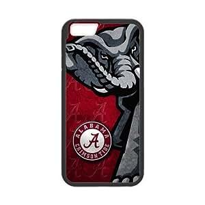 Generic Custom Extraordinary Best Design Alabama Crimson Tide Symbol Plastic and TPU(Laser Technology)Case Cover for the iPhone6