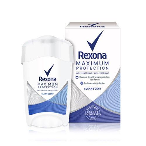 REXONA MAXIMUM PROTECTION Clean Scent Deo Deodorant Cream 45 ml