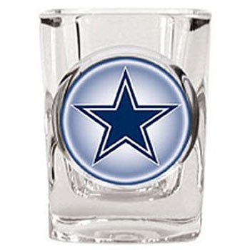 - Dallas Cowboys 2 oz Square Shot Glass