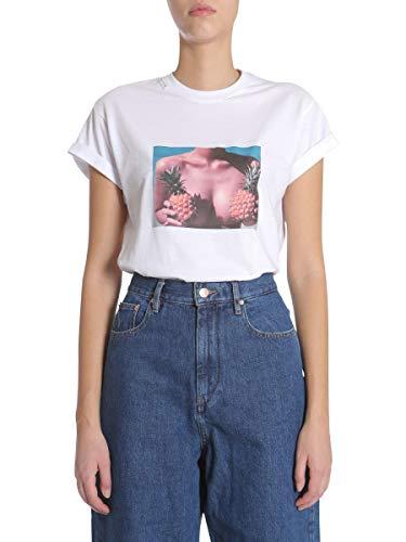 Forte Fc1ss1893white1 T Algodon shirt Mujer Blanco Couture xnTqxUB