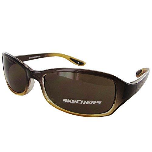 Skechers Unisex SK 6001 Childs Fashion Sunglasses, Brown To Amber - Sunglasses 6001