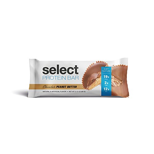 PEScience Select Protein Bar, Chocolate Peanut Butter, Low Carb, Gluten Free, Case of 12 Bars