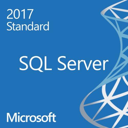 Microsoft SQL Server Standard 2017 10 Cal by Microsoft