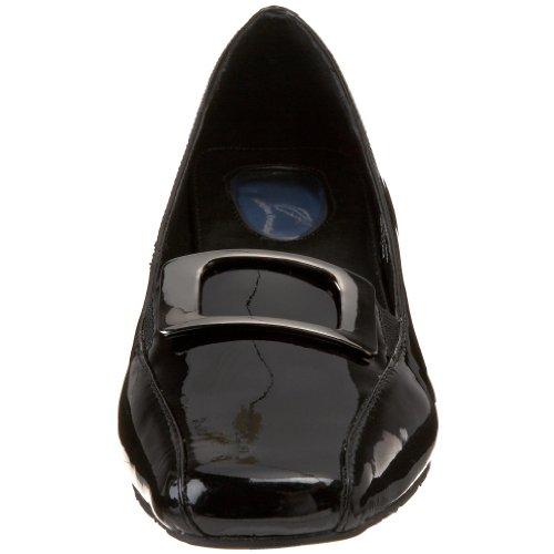 Drew Shoe Mujeres Amanda Pump Black Patent