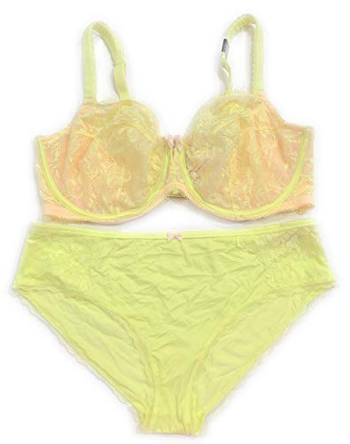 bdd047c5931c Victoria's Secret Body by Victoria Sheer Lace Unlined Demi Underwire 38DD Bra  Set with Matching Hiphugger