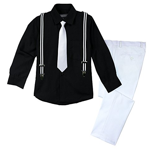 Spring Notion Big Boys' Halloween Inspired 4-Piece Outfit 17 Referee -