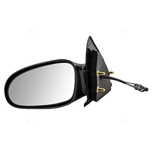 Manual Remote Side View Mirror Driver Replacement for 96-02 Saturn S-Series Sedan & Wagon 21170589