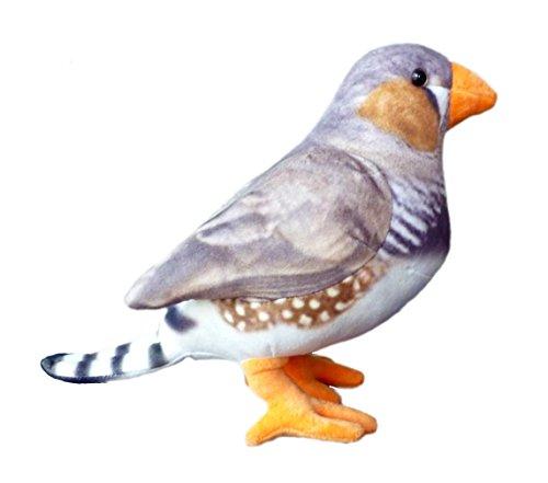 "ADORE 12"" Peppy the Zebra Finch Bird Stuffed Animal Plush Toy"