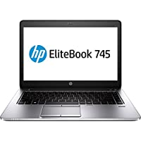 HP EliteBook P0C24UT#ABA 14 Laptop (Black)