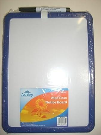 A4 Mini Whiteboard + Marker Magnetic Mounting: Amazon.co.uk ...