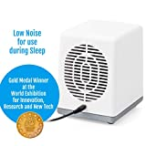 Salin Plus Natural Salt Air Purifier Therapy Device (Mini Size) for Respiratory Issues and Allergies