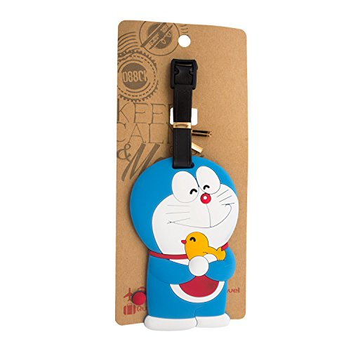 DIYJewelryDepot Doraemon Luggage Travel School